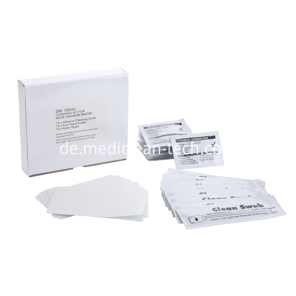 EDI Secure XID & IDX Series Re-transfer Printer Cleaning Kit