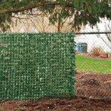 Clôture de clôture de confidentialité Clôture de haie artificielle