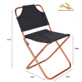 Portable Folding Aluminum Oxford Cloth Chair