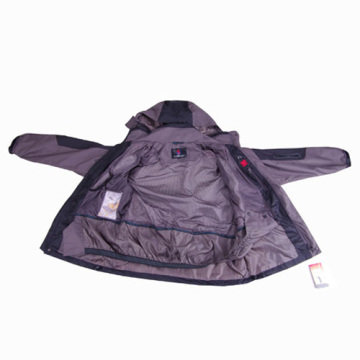 Gray Outdoor Waterproof Rain Gear