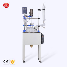 High Quality Single-layer Glass Chemical Lab Reactor