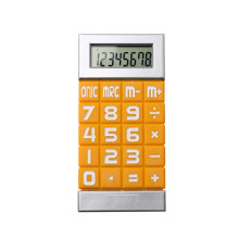 8 Digit Small Size Pocket Calculator with Silicone Button