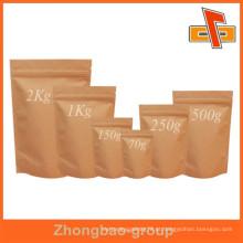 Sacos de papel kraft, sacos de papel kraft por atacado, sacos de chá verde