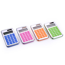 8 Digit Dual Power Mini Colorful Pocket Calculator