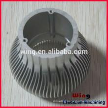 Suministro de OEM y ODM servicio modificado para requisitos particulares de aluminio llevada carcasa de la lámpara