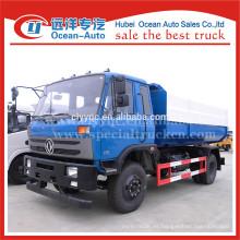 2015 nueva condición dongfeng 12m3 elevador hidráulico camión de basura