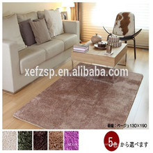 100% polyester non woven large area round machine washable rug 100% polyester printed waterproof soft shaggy rug