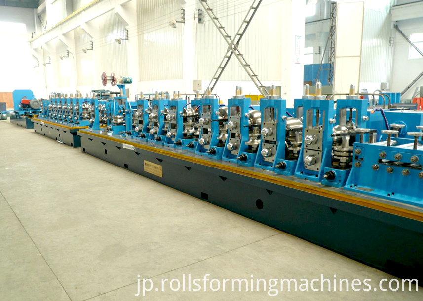welded pipe iron tube mill