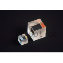 Optical UV Grade Fused Silica Beamsplitter Cube From China