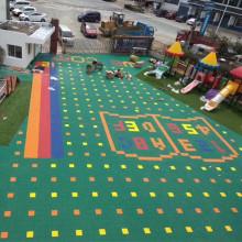 kindergarten healthy plastic sport floor