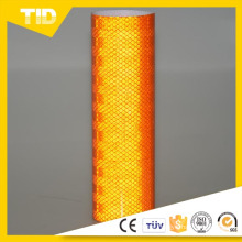 Orange Super Intensity Grade Micro Prismatic Reflective Sheeting