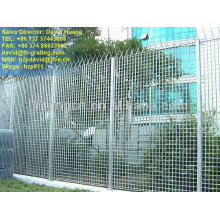 grating security fence