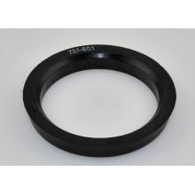 Forjado 6063 plástico cubo da roda centric anel