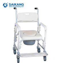 SKE031 Medical Appliances Simple Toilet Commode Chair