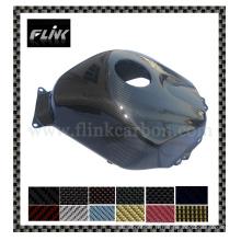 Caisse de réservoir en fibre de carbone pour moto Honda Cbr 600 Rr 05-06