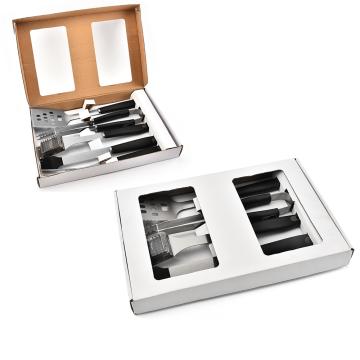 5PCS BBQ Tools Set With White Box