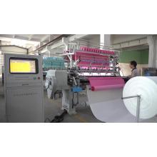 Máquina acolchadora de múltiples agujas de lujo