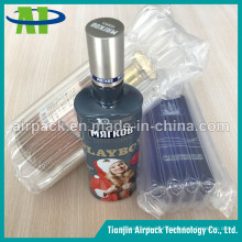 Luft Spalte Weinflasche Air Bag
