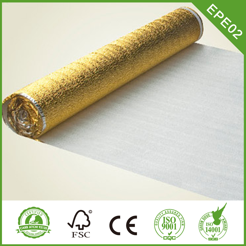Underlay for PVC Flooring
