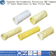Bolso de filtro del polvo de Fms de la fuente directamente de la fábrica para la industria de la metalurgia con la muestra libre