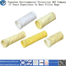 Sac filtre non-tissé FMS de collecteur de poussière pour l'usine d'asphalte
