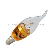 Горячее надувательство холодного белого E14 водить свет канделябра