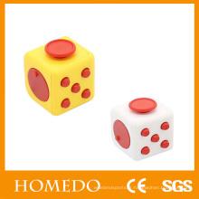 cube éducatif original fidget dice case renget cube soulage le stress et l'anxiété