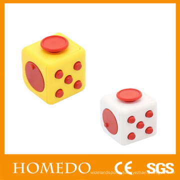 educational cube original fidget dice case fidget cube relieves stress and anxiety