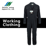 Man's Black Cotton Long Suit