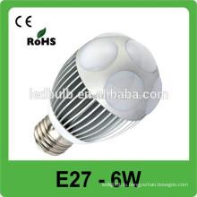 Энергосберегающий свет пятна алюминиевого сплава, рынок рынка интернета 6w e27 вел свет пятна