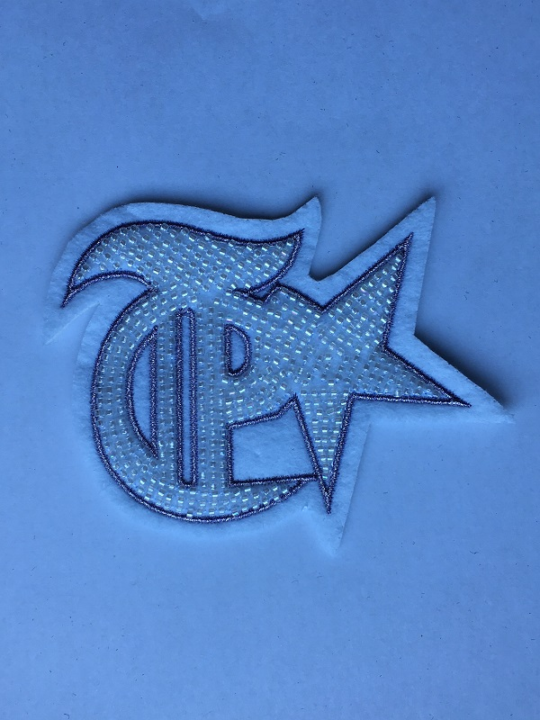 Pattern Embroidery Patch