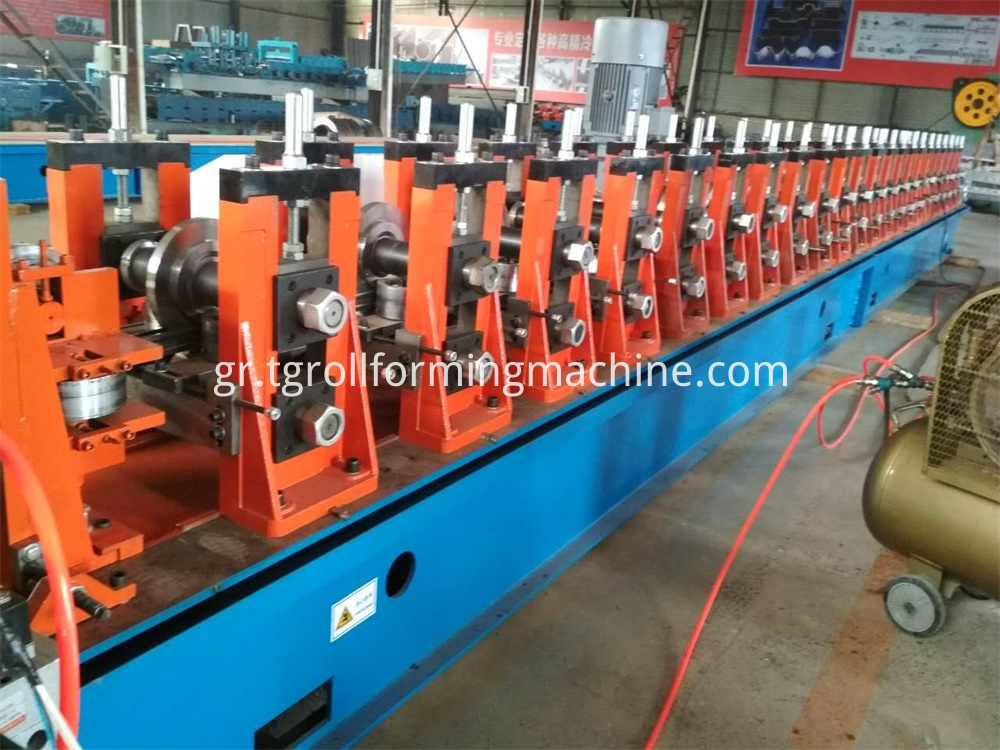 Pallet Rack Upright Frame Forming Machine