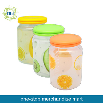 Dollar Items of Plastic Canister with Lid