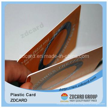 Tarjeta de PVC de código de barras Tarjeta de plástico