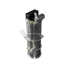 Low cost pneumatic fitting replace vacuum feeder completely