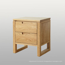 New Design Wood Bedroom Cabinet with Two Drawers