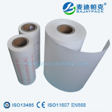 Medical Heat Sealable Surgical Glove Coated Paper Roll