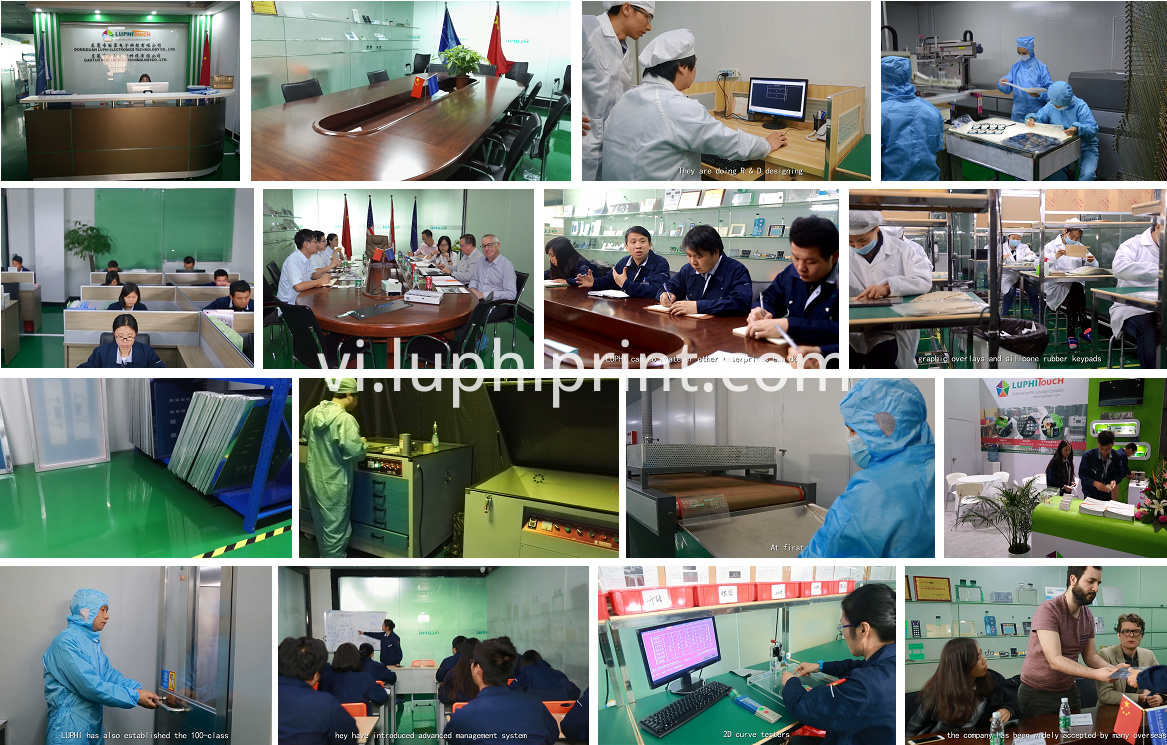 Luphitouch Membrane Switch Factory View