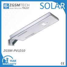 Luz de calle solar integrada en la lista de Ro RoHS