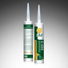 C-550 Un componente Sellador de silicona de uso general Neatural para vidrio de aluminio