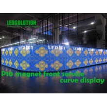 Front Service Curve LED Anzeige
