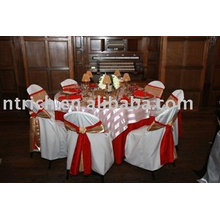 100% polyester chair cover, chair cover for wedding, hotel chair cover