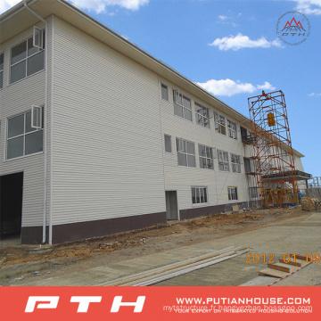 Entrepôt de structure métallique de grande envergure conçu par professionnel conçu par préfabriqué