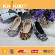 OEM service embroidery stripe line dance shoes for woman