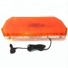 12 V 24 V Strobe Flash de Segurança Rodoviária Mini Emergência Ímã Forte Âmbar 40 W 56 W LED Luz de Advertência Bar