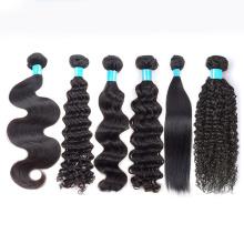 Lot de cheveux indien brut, extension de cheveux naturels remy, extensions de cheveux naturels, cheveux bruts indiens