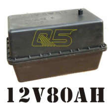 Batterie solaire de batterie 80A