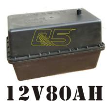 Bateria de bateria solar com bateria de 80A Caixa de bateria solar impermeável subterrânea