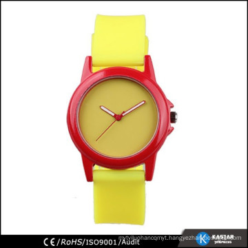 new design blank watch dial silicone strap girls watches