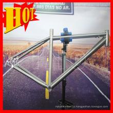 Quadro de bicicleta de montanha de titânio de suspensão total BMX